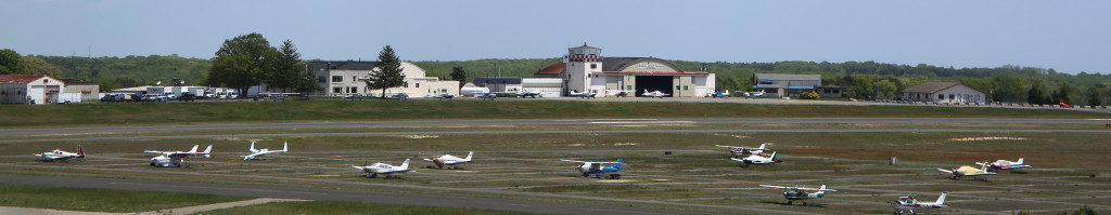 Outdoor Aircraft Tie Downs At Monmouth Airport