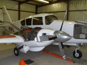 Aircraft maintenance & repair at Monmouth Airport