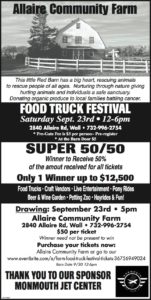 food truck festival Monmouth Airport