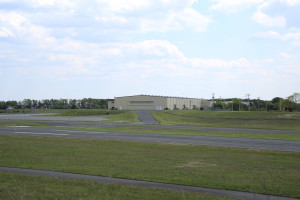 Aircraft Hangar Access At Monmouth Airport