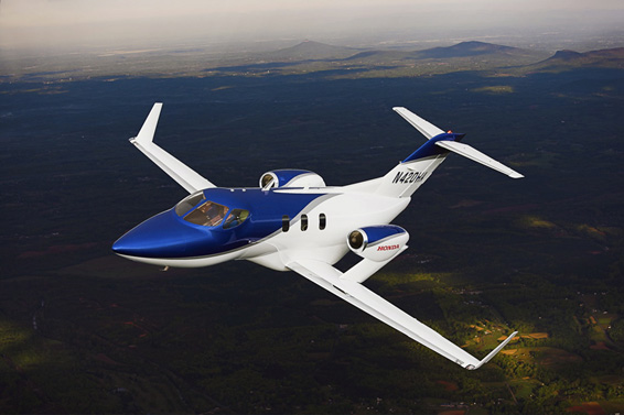 Honda's New Jet Takes To The Sky