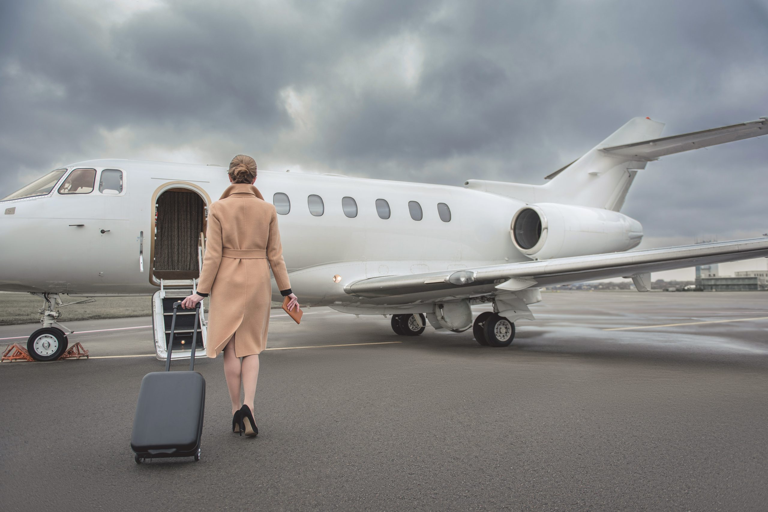 Monmouth Executive Airport talks private jets