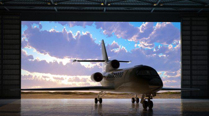 What is a custom aircraft hangar